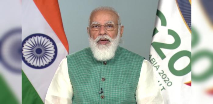 Prime Minister Narendra Modi. Credit: Twitter (@BJP4India)