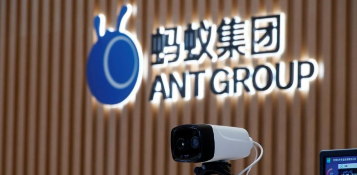 China's Ant group may have been dealt a setback with the shelving of its IPO but European banks remain wary. Credit: Reuters Photo