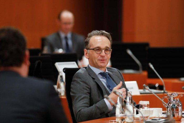 German Foreign Minister Heiko Maas. Credit: AFP