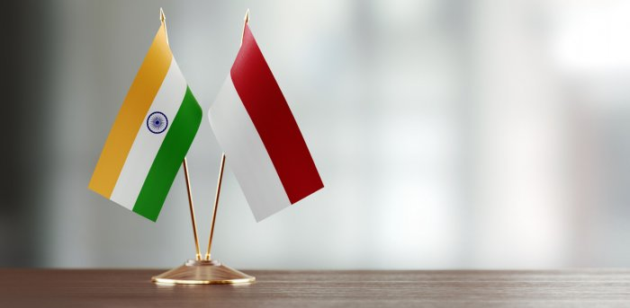 India and Indonesia flags. Credit: iStockPhoto