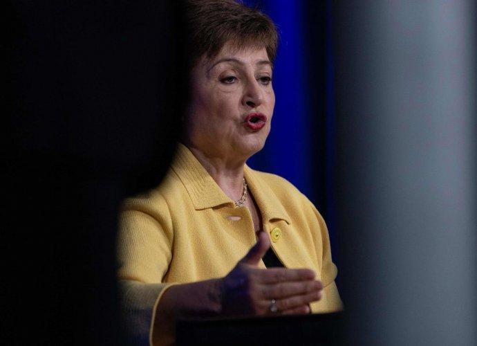 IMF Managing Director Kristalina Georgieva. Credit: AFP