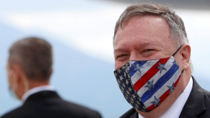 Mike Pompeo. Credit: Reuters.