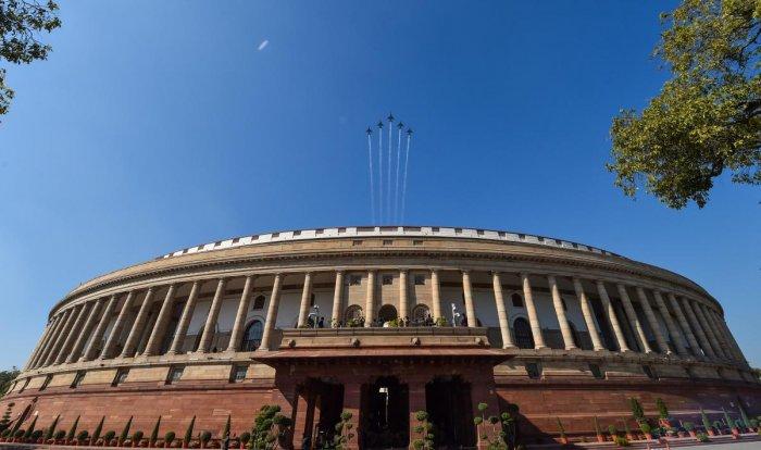 Parliament. Credit: PTI