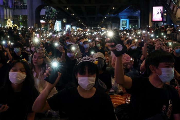 Protest in Thailand. Credit: Reuters