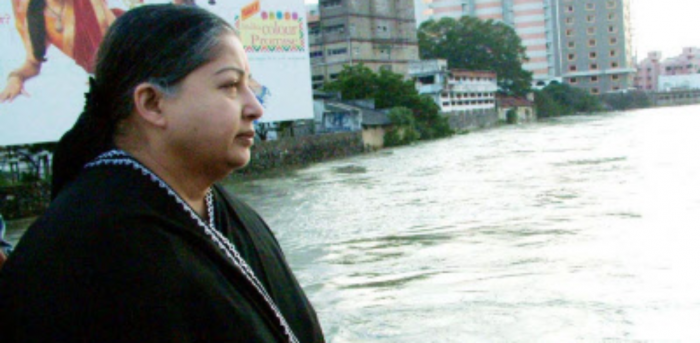 Former Chief Minister J Jayalalithaa. Credit: DH File Photo