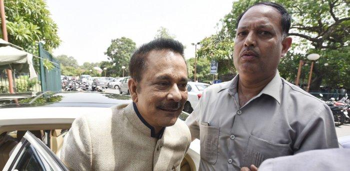Subrata Roy. Credit: Bloomberg Photo