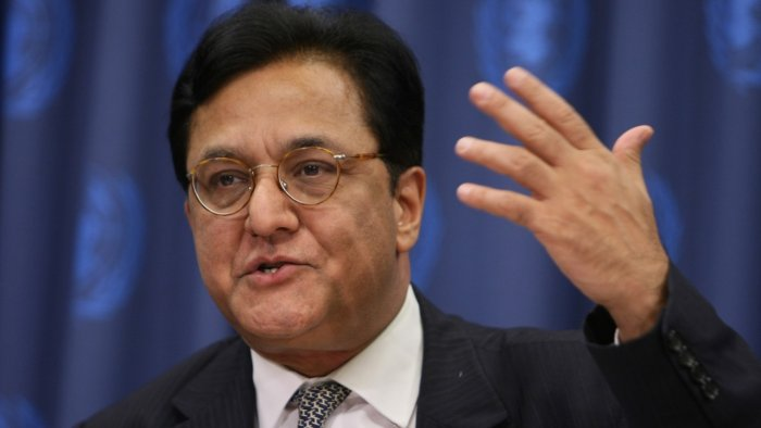 In this file photo taken on September 24, 2007 Rana Kapoor, founder of the Yes Bank, answers questions at a news conference at the United Nations in New York. Credit: AFP Photo