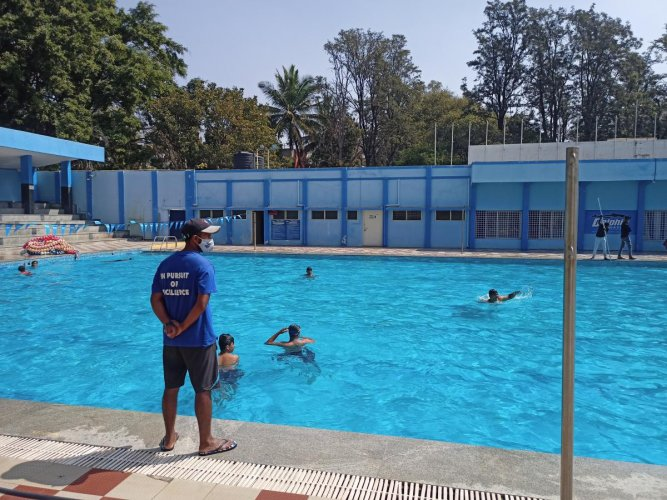 Swimming Pools Open With New Regulations Deccan Herald