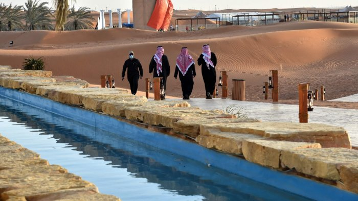 The Riyadh Oasis: A luxury retreat in the desert for elite Saudis locked in  by Covid-19 pandemic | Deccan Herald