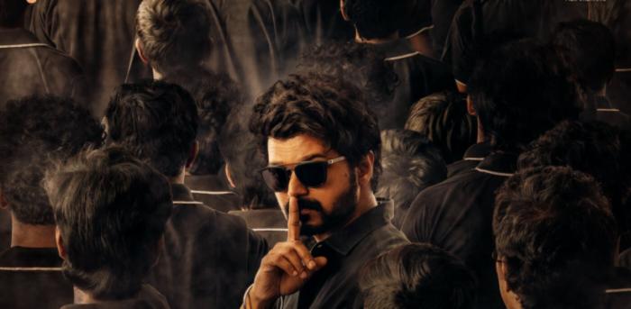 Actor Vijay in 'Master'. Credit: Twitter/@actorvijay
