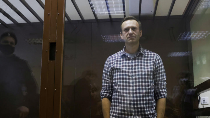 Imprisoned Russian opposition leader Alexei Navalny. Credit: Reuters File Photo