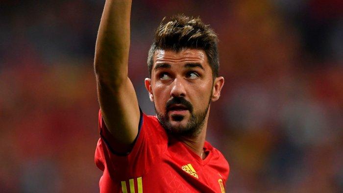 World Cup winner David Villa. Credit: AFP File Photo