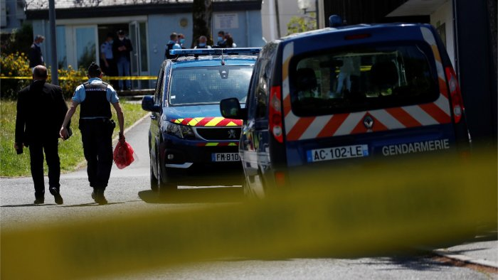 Police operation in France after reports of armed man on the run
