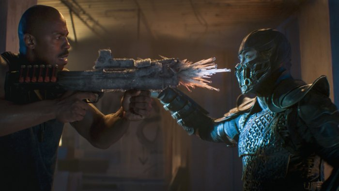 Sub-Zero (right) has undergone one of the most drastic character changes in the movie. Credit: Warner Bros. Pictures