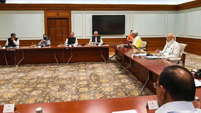 From the Newsroom: PM Modi meets senior leaders from J&K   Deccan Herald