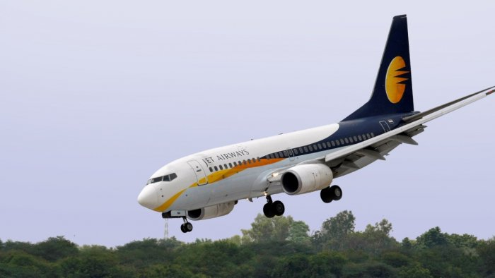 Grounded carrier Jet Airways on Wednesday reported a loss of Rs 153.35 crore for the June quarter of the last financial year. Credit: Reuters File Photo
