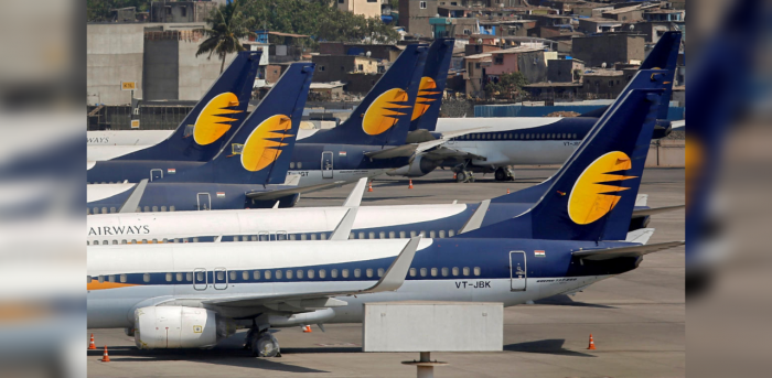 Shares of Jet Airways slumped in early trade on Thursday. Credit: Reuters Photo