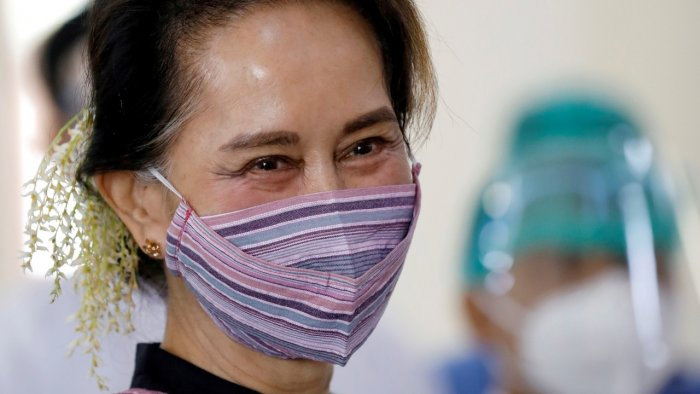 Myanmar State Counsellor Aung San Suu Kyi. Credit: Reuters File Photo