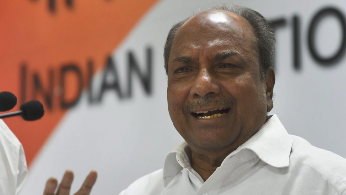 Former Defence Minister A K Antony. Credit: PTI File Photo