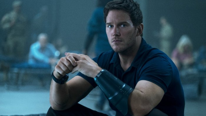 Chris Pratt as Dan Forester is the only saving grace of 'The Tomorrow War'. Credit: Amazon Prime Video