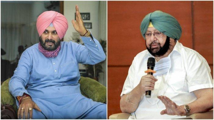 Punjab Congress row escalates: Amarinder Singh writes to Sonia Gandhi  against Navjot Singh Sidhu as PCC chief | Deccan Herald