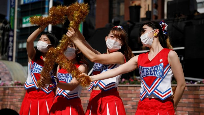 Japan is enjoying a stellar Olympics in public viewing 120km from Tokyo