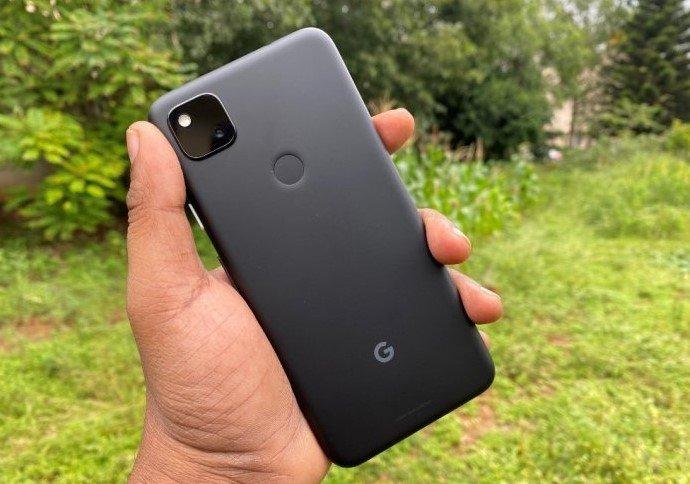 Google Pixel 4a. Credit: DH Photo/KVN Rohit
