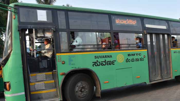 The BMTC has introduced six new bus routes. Credit: DH File Photo