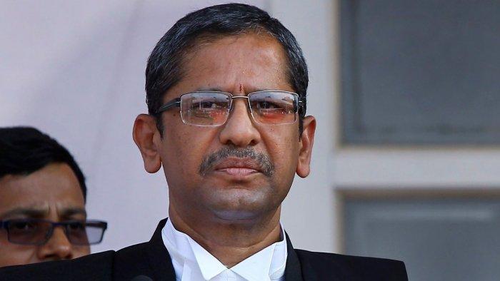 Chief Justice of India N V Ramana. Credit: PTI file photo