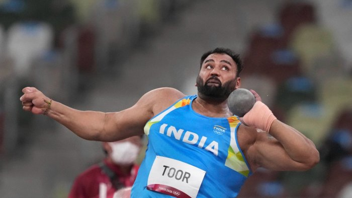 Asian record holder Toor could only manage one legal throw of 19.99m. Credit: PTI Photo