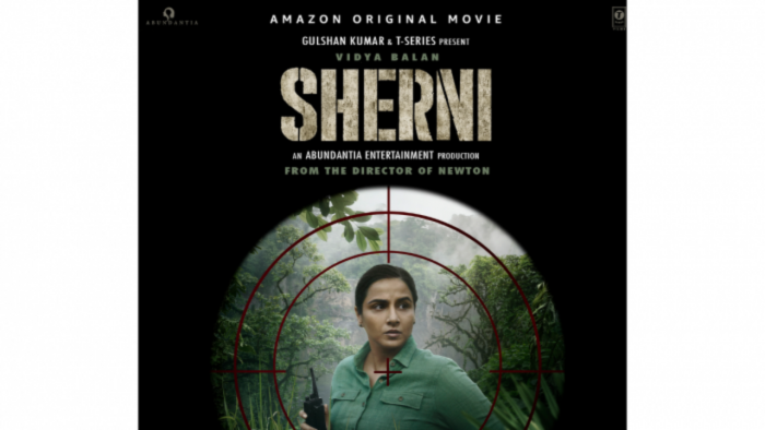 The official poster for 'Sherni'. Credit: IMDb