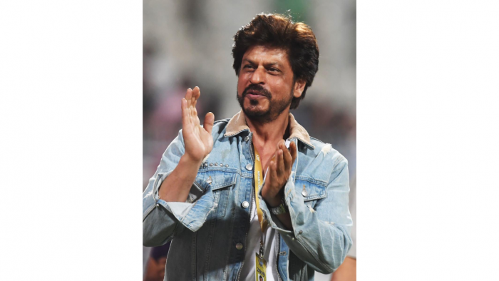 Shah Rukh Khan praised the team's resilient performance in their match against Germany. Credit: AFP Photo