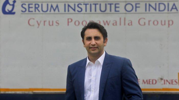 Serum Institute of India CEO Adar Poonawalla. Credit: Reuters file photo