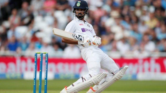 India's KL Rahul in action. Credit: Reuters Photo