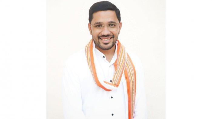 Former BJP minister in Goa, Mahadev Naik. Credit: Facebook/MahadevNK.BJYM