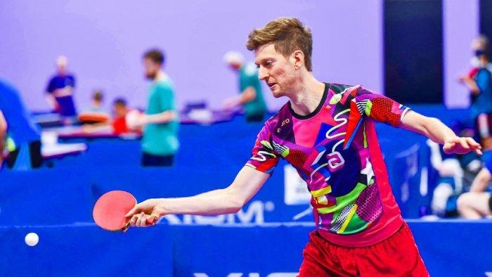 Table tennis commentator Adam Bobrow. Credit: Facebook/AdamBobrowOfficial