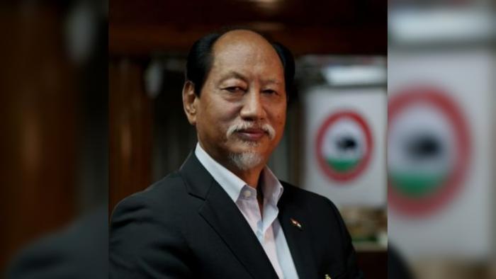 Nagaland Chief Minister Neiphiu Rio. Credit: Twitter/@Neiphiu_Rio