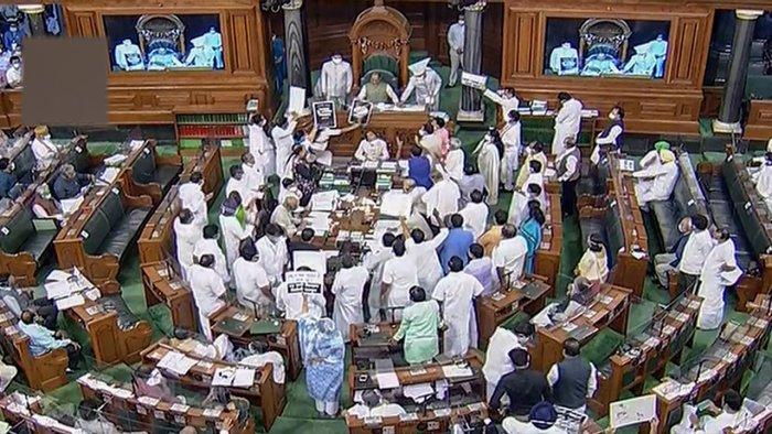 Lok Sabha Monsoon session. Credit: PTI Photo