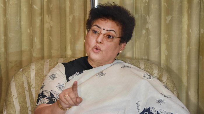 National Commission for Women (NCW) Chairperson Rekha Sharma. Credit: PTI Photo