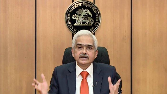 Reserve Bank Governor Shaktikanta Das. Credit: PTI Photo