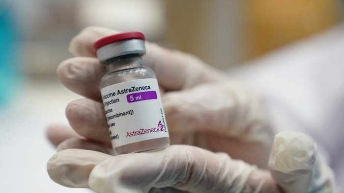 The plant, owned by Emergent Biosolutions, was producing vaccines for AstraZeneca and Johnson & Johnson. Credit: Reuters Photo