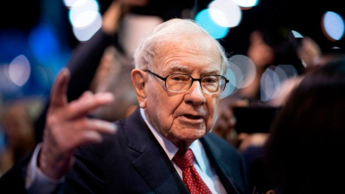 Billionaire Warren Buffett. Credit: AFP File Photo