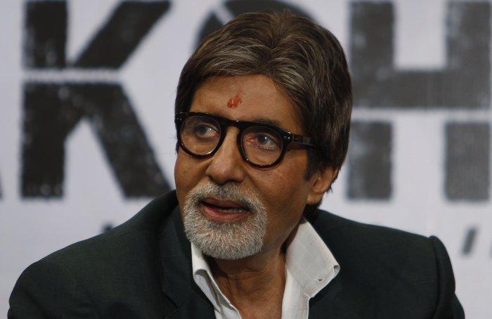 Bollywood megastar Amitabh Bachchan. Credit: PTI File Photo