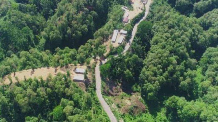The inner line reserve forest area on Assam-Mizoram border. Credit: Forest department, Cachar district, Assam