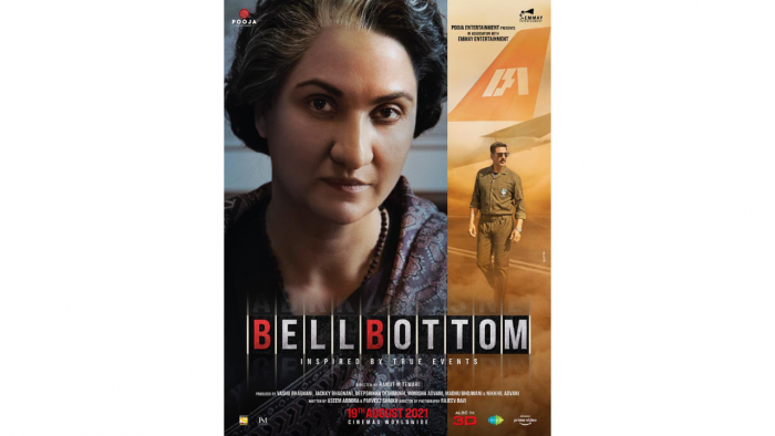The poster for 'Bellbottom'. Credit: Twitter/@LaraDutta