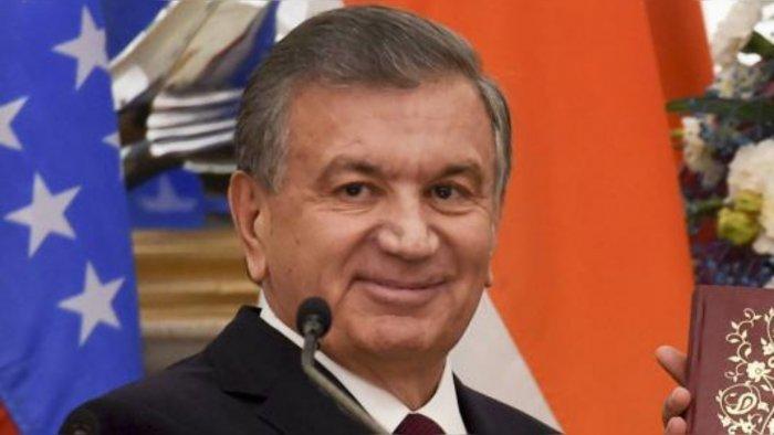 Uzbek President Shavkat Mirziyoyev. Credit: PTI File Photo
