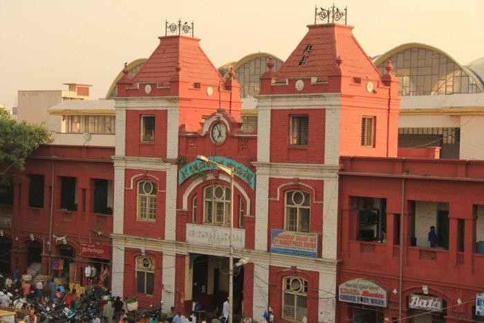 K R Market in Bengaluru. Photo by Aravind C
