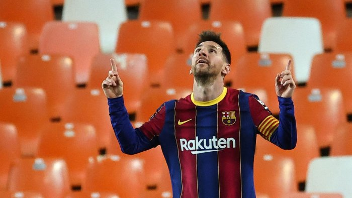 Lionel Messi. Credit: AFP file photo