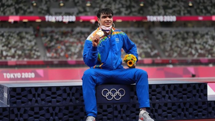 Chopra on Saturday became only the second Indian to win an individual gold in the Olympics. Credit: PTI Photo