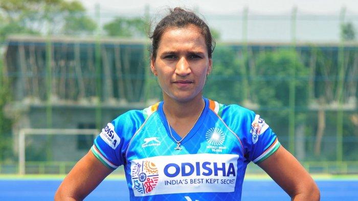 Indian women's hockey team skipper Rani Rampal. Credit: PTI File Photo